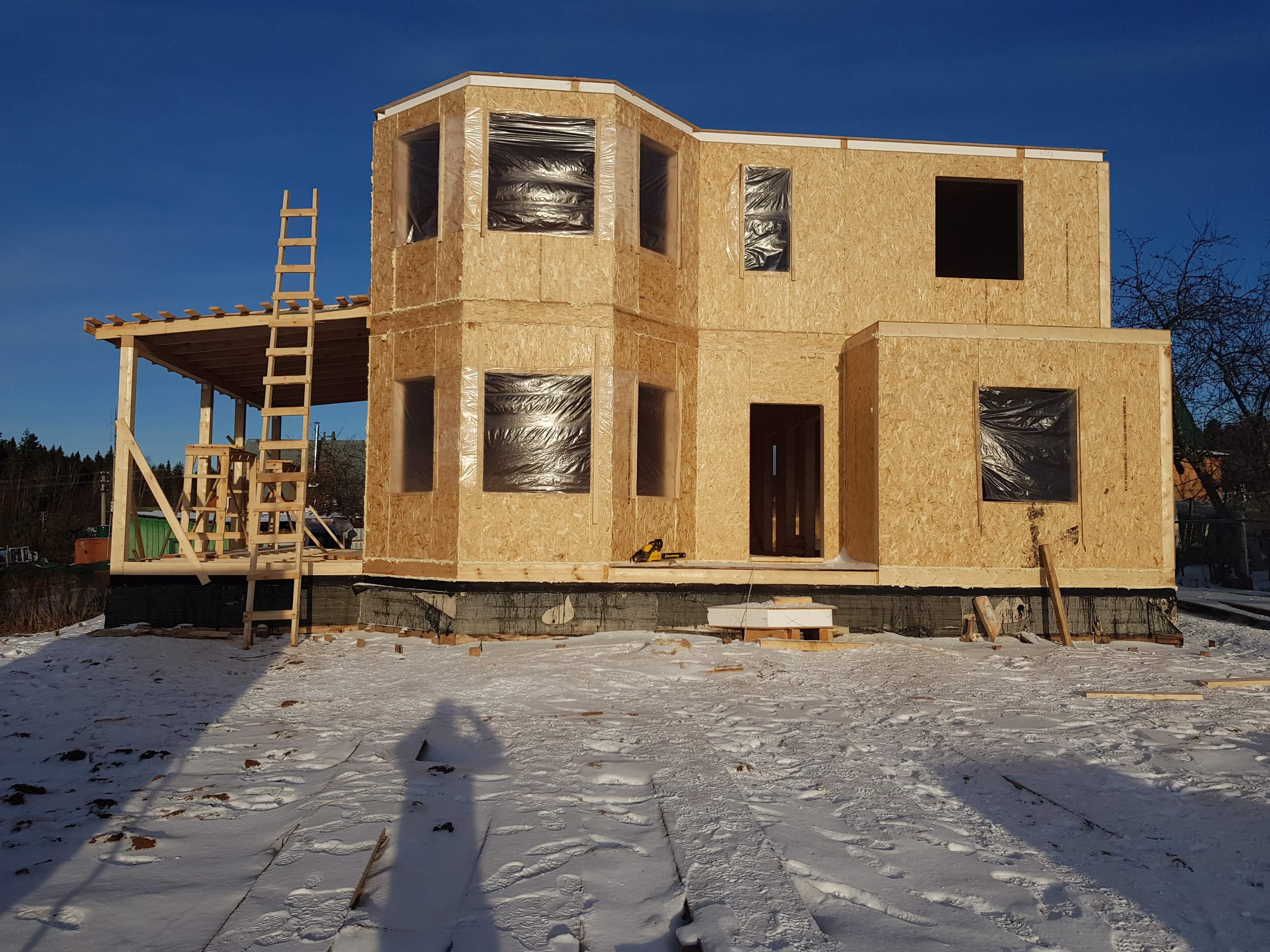 проекты домов из сип панели в картинках последнее